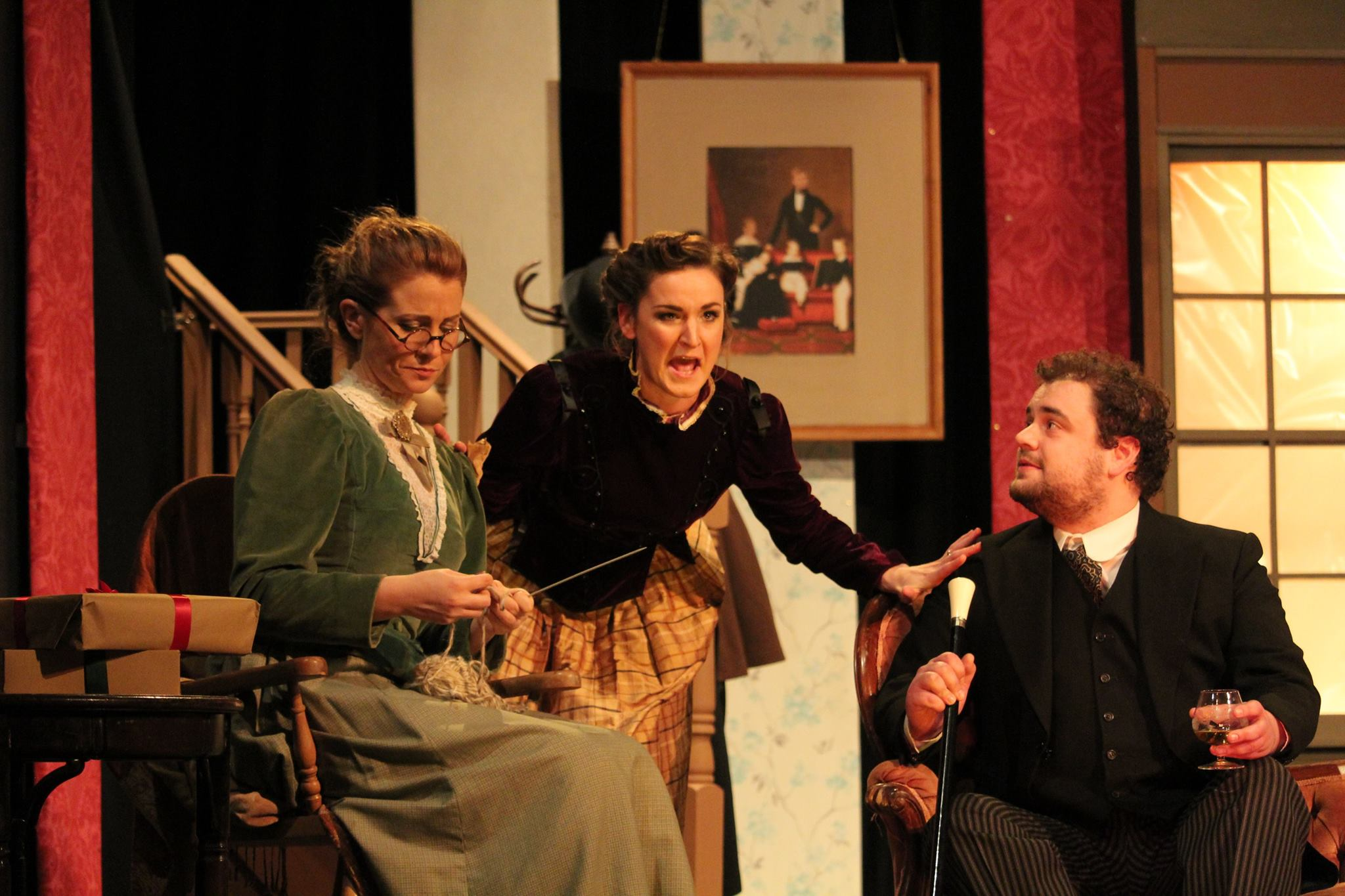 A Doll's House cast on stage