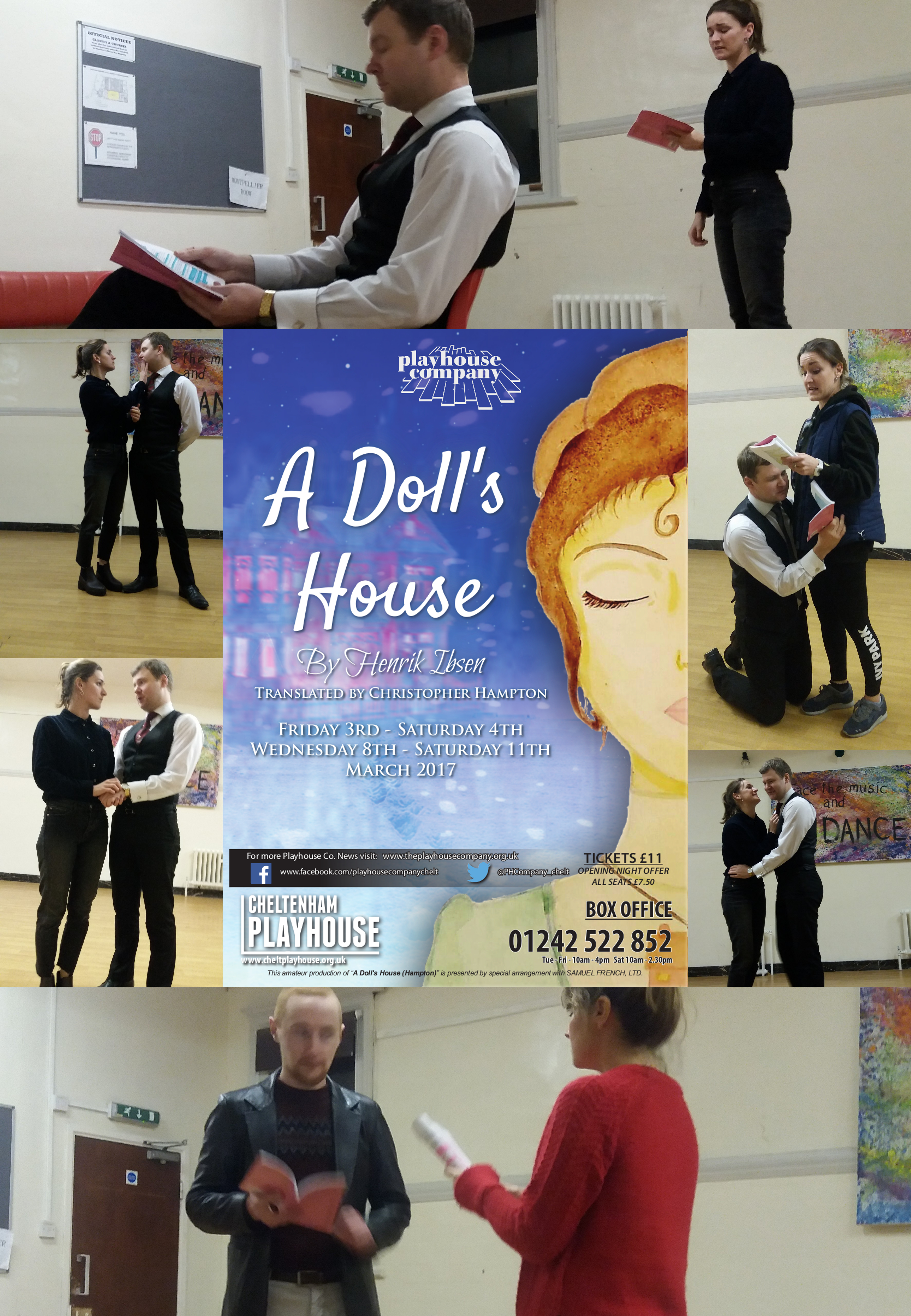 Poster for A Dolls House Reading & Auditions